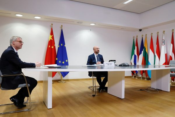 Europe's investment initiative with China