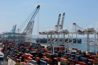 Une vue générale du port à conteneurs Tanger Med à Kasr El Saghir près de la ville côtière marocaine de Tanger, le 26 juin 2019 (Photo: Reuters / Youssef Boudlal).