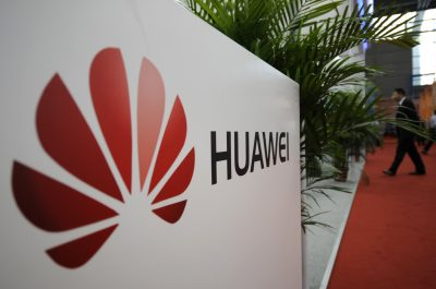 A logo of Huawei Technologies Co. Ltd. is seen at the 13th China Hi-Tech Fair in Shenzhen, Guangdong province, 16 November 2011 (Photo: Reuters/Stringer).