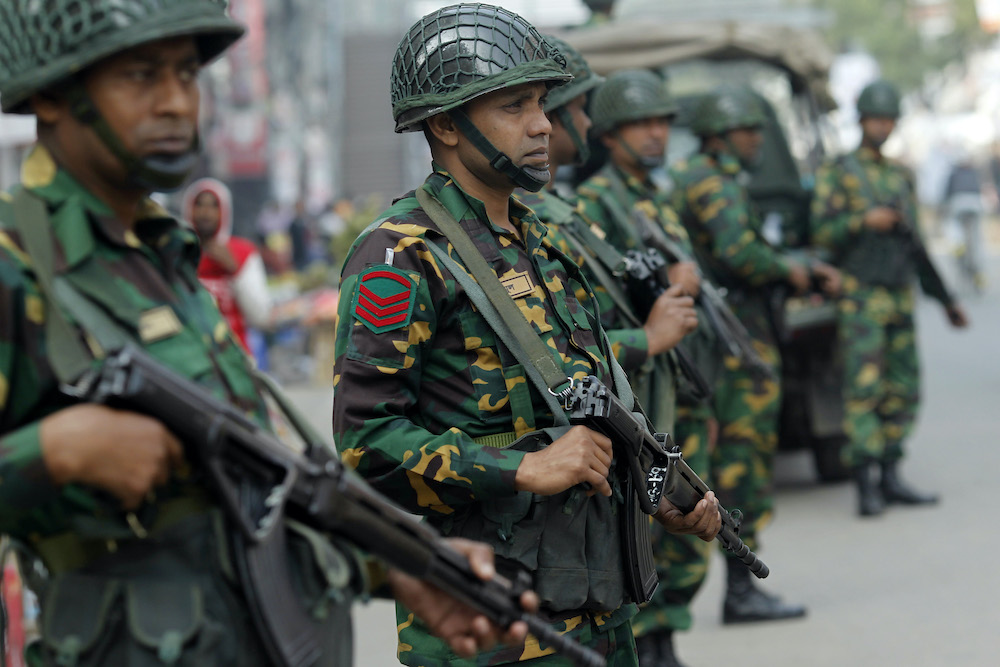 The Bangladesh army's increasing role in civilian affairs