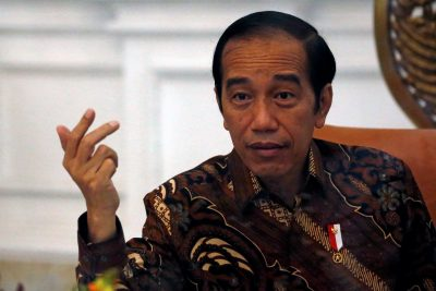 Indonesian President Joko Widodo gestures during an interview with Reuters at the presidential palace in Jakarta, Indonesia, 13 November, 2020 (Photo: Reuters/Willy Kurniawan/File Photo).