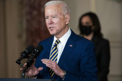US President Joe Biden delivers a foreign policy speech at the State Department in Washington DC, United States, February 4, 2021 (Photo: Reuters).