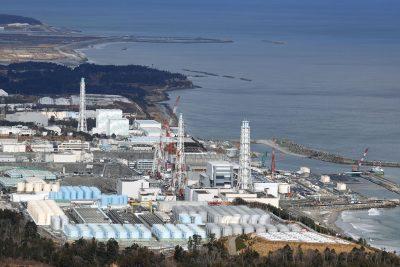 Tanks storing treated radioactive water on the premises of the Fukushima Daiichi nuclear power plant, Japan, 8 January 2021 (photo: Reuters/Kyodo)